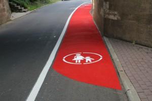 Fußwegbeschichtung ASV Kassel