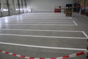 Hallenmarkierung Kraftverkehr Nagel in Stuttgart