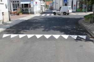 Straßenmarkierungen Stadt Melsungen