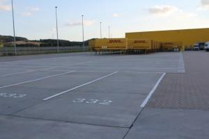 Hofmarkierung DHL Mecklar
