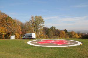 Hubschrauberlandeplätze für die Kreiskliniken Kassel GmbH in Wolfhagen und Hofgeismar