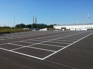 Logistikmarkierung für Hagebau Logistik GmbH & Co. KG in Herten