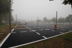 Parkflächenmarkierung für Audi Gebrauchtwagen Plus in Kassel