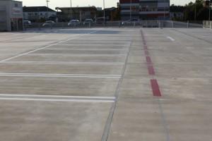 Parkdeckmarkierung Kaufland in Neckarsulm