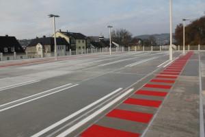 Parkdeckmarkierungen Kaufland in Gummersbach