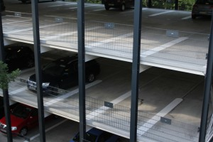 Parkhausmarkierung Firma Goldbeck Nürnberg