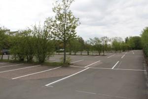 Parkplatzmarkierungen HEWI in Mengeringhausen