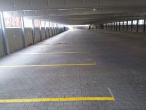 Parkhausmarkierung für die Fa. Goldbeck in Marienfelde