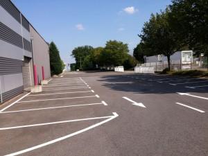 Parkplatzmarkierung Messegelände Bad Salzuflen